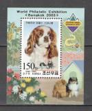 Coreea de Nord.2002 Expozitia filatelica BANGKOK-Bl. supr.  SC.343