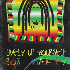 Caseta Bob Marley ‎– Lively Up Yourself , originala, holograma