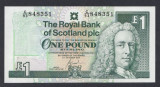 A5058 Scotland Scotia 1 pound 2001 UNC