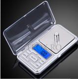 Cantar Bijuterii Digital 0. 1g - 500g cu Afisaj LCD + Baterii Incluse