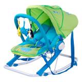 Scaun balansoar pentru bebelusi Caretero AQUA SBCA-V, Verde