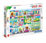Cumpara ieftin Puzzle Super Color Orasul, 104 piese