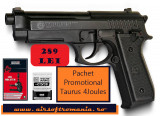Super OFERTA!!! Pistol 4 JOULES Taurus+ Toc picior+ bile 0,30gr airsoft+ 10 CO2
