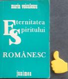 Eternitatea spiritului romanesc Marin Voiculescu cu autograf