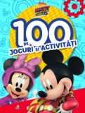 Disney Junior. Mickey și piloții de curse. 100 de jocuri și activități