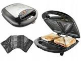 Cumpara ieftin Resigilat: Sandwichmaker Gorenje SM703BK 3in1