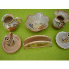 Ceramica frantuzeasca Provence, lot de 6 obiecte