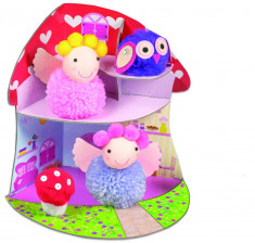 Set creativ - Fairy Pompom House PlayLearn Toys foto