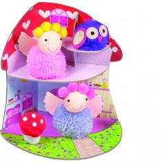 Set creativ - Fairy Pompom House PlayLearn Toys