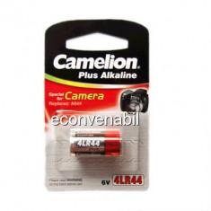 Baterie Camelion 6V 4LR44 Plus Alkaline pentru Aparate Foto