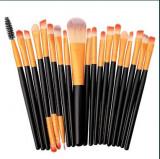 Set de 20 pensule make-up/ pensule machiaj
