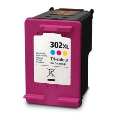 Cartus cerneala HP 302XL F6U67AE color compatibil HP302XL foto