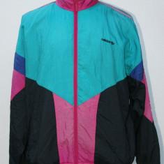 Bluza trening   multicolora Adidas retro, L/XL, Multicolor, Nylon