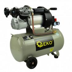 Compresor 50L, 2 pistoane, 3kW, 410 l/min, 91 dB