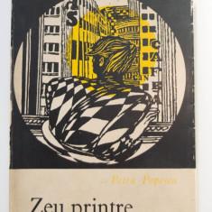 Petru Popescu - Zeu printre blocuri (cu autograf/ dedicație)