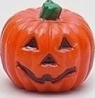 Lumanare Halloween in forma de Dovleac 7 x 7 cm, Portocaliu