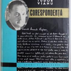 TUDOR VIANU - CORESPONDENTA , editie ingrijita de HENRI ZALIS , 1970
