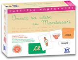 Cumpara ieftin Invat sa citesc cu Montessori - 84 de jetoane si 51 de tichete de lectura pentru a invata sa citesti foarte usor/Anne Ghesquiere, Charlotte Poussin