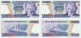 2 x 1994 , 500,000 turkish lira ( P-208c ) - Turcia - stare aUNC