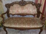 salonas rococo/baroc/ludovic/louis/canapea cu scaune/mobila antica/vintage