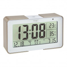 Termometru si higrometru TFA, senzor de lumina, alb