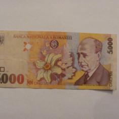 CY - 5000 lei 1998 Romania