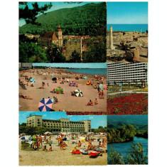 Lot 6 carti postale Romania 1968-72 editura Kruger