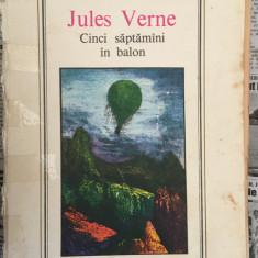 Cinci saptamani in balon, de Jules Verne, Editura Ion Creanga