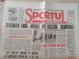 sportul romanesc 11 martie 1993-articol stefan covaci