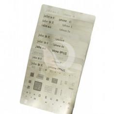 Bga reballing, set site bga, iphone