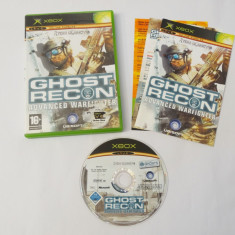 Joc Xbox Classic - Ghost Recon Advanced Warfighter, Actiune, Toate varstele, Single player