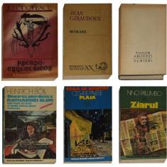 Carti beletristica VI - Scriitori celebrii (6 buc.)