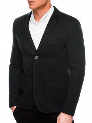 Sacou casual barbati M56 - negru foto