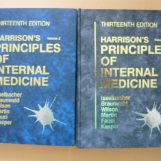 HARRISON'S PRINCIPLES OF INTERNAL MEDICINE ( 2 vol. ) - 13TH EDITIONS - 1994