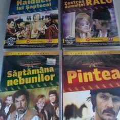 Colectia Florin Piersic - Filmele Adevarul -Set  4 DVD