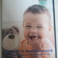 BUN VENIT IN FAMILIA NOASTRA - DVD- PRIMUL AN DE VIATA AL COPILULUI TAU, Romana