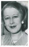 1078 - Elena LUPESCU, sotia Regelui CAROL II - real PHOTO (19/12 cm) unused 1941