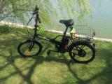 Bicicletă electrică, pliabilă, nouă, pedelec, FreeWheel Urban Pedelec.