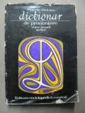 DICTIONAR DE PRONUNTARE-FLORENTA SADEANU BUCURESTI 1973