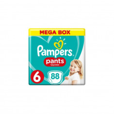 Scutece Nr 6 Pants Extra Large +15 kg Pampers 88 buc