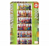 Cumpara ieftin Puzzle World Beers - Panorama, 2000 piese, Educa