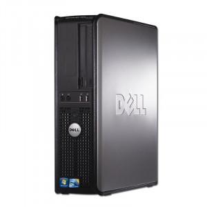 Calculator Dell 380 DT, Intel Core 2 Duo E8400, 3GHz, 4GB DDR3, 250GB, DVD