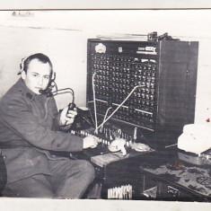 bnk foto Militar in termen - telefonist centrala