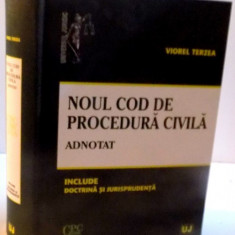 NOUL COD DE PROCEDURA CIVILA , ADNOTAT , 2016