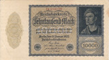 GERMANIA 10.000 marci 1922 VF+!!!