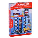 Set de joaca parcare cu 3 masini Toys, 3 ani+