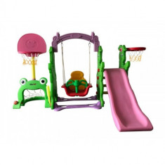 Centru de Joaca 4 in 1 Rabit Slide Multicolor
