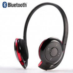 Casti stereo Bluetooth handsfree BT, mobil, PC, laptop, microfon, noi