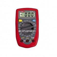 Multimetru digital cu functie de masurare temperatura UT33C