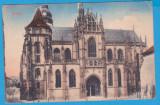 (5) CARTE POSTALA AUSTROUNGARA - KASSA (KOSICE, SLOVACIA) - DOMUL, Circulata, Printata